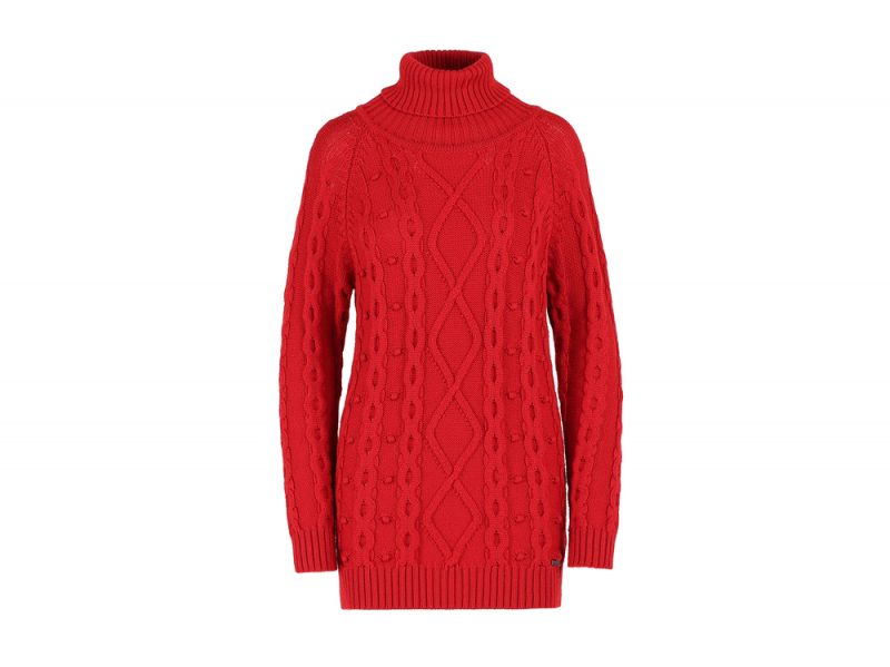 woolrich-maglione-dolcevita-rosso