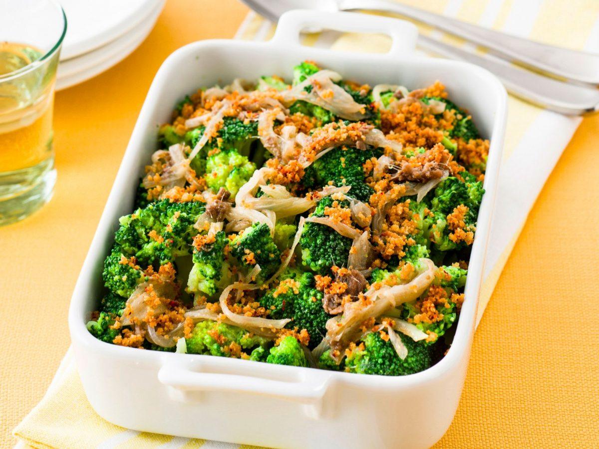 Broccoli gratinati in forno