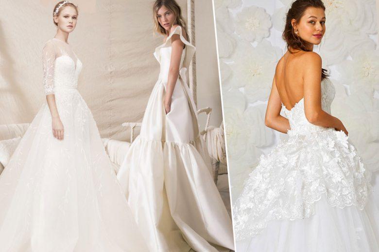 Abiti da sposa da principessa: le novità del 2018