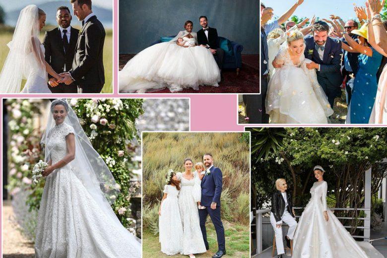 Gli abiti da sposa delle star che hanno detto sì nel 2017