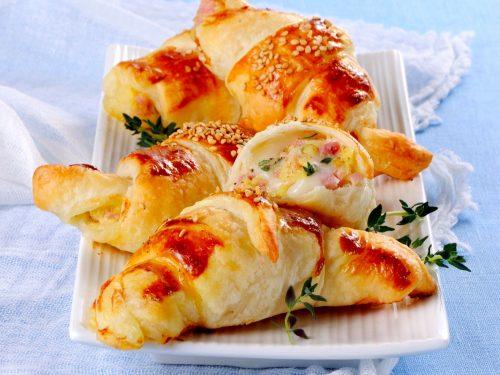 Cornetti Salati Di Pasta Sfoglia