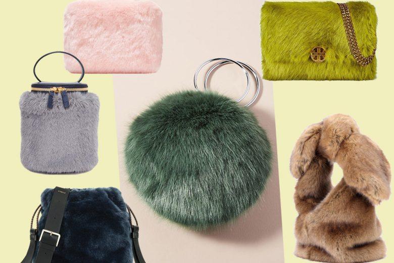 Eco-fur bag: la borsa in eco pelliccia è la regina di stagione