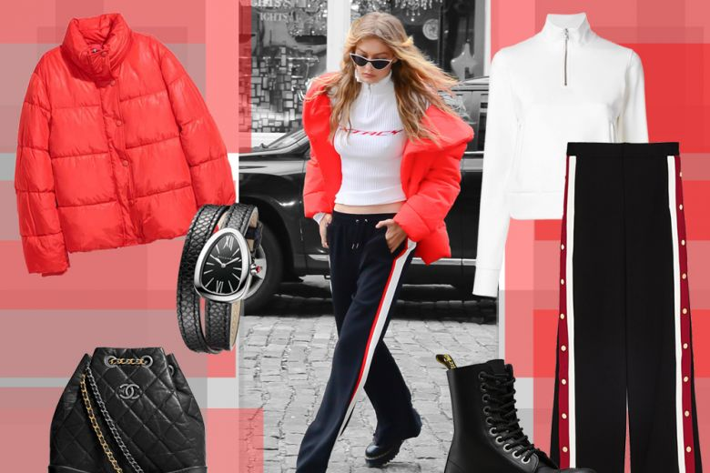 Sporty-glam come Gigi Hadid: get the look!
