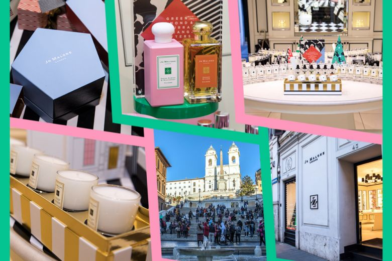 A Roma per scoprire il Natale Crazy Colourful di Jo Malone London