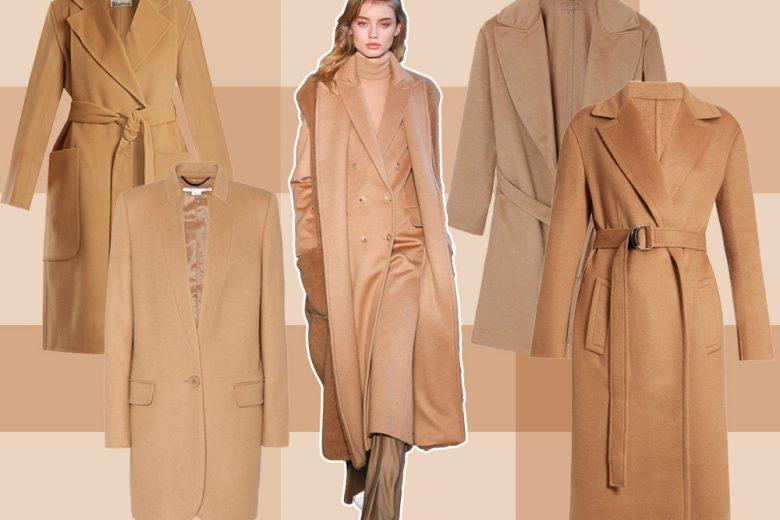 Cappotti Cammello: 10 modelli cool per l'inverno 2017