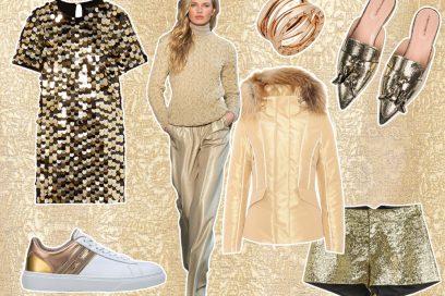 Gold Fever: il colore oro da indossare per le feste
