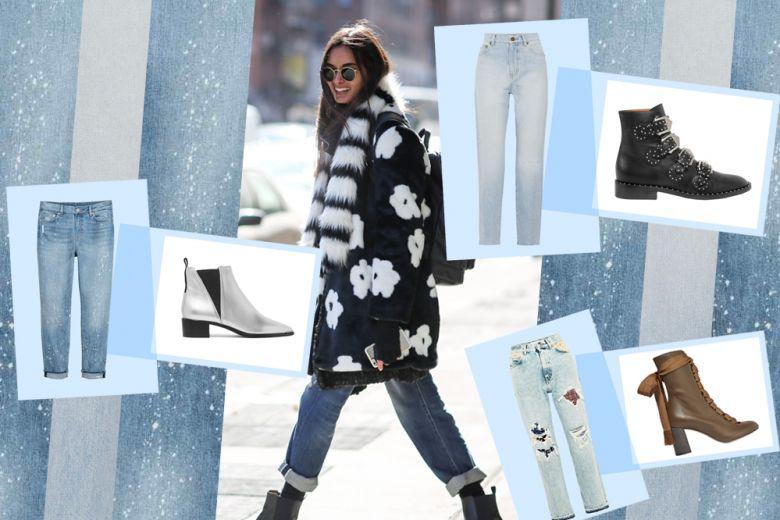 Jeans e stivaletti: gli abbinamenti più cool da provare