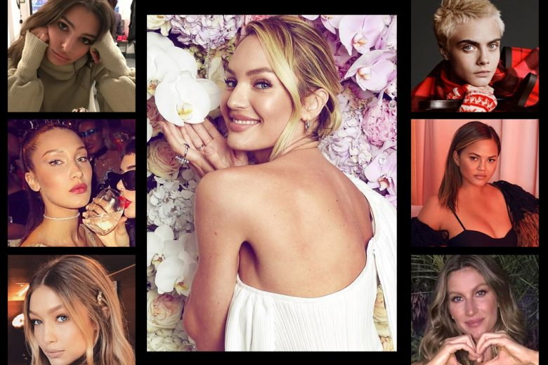 Le modelle più seguite del 2017 su Instagram