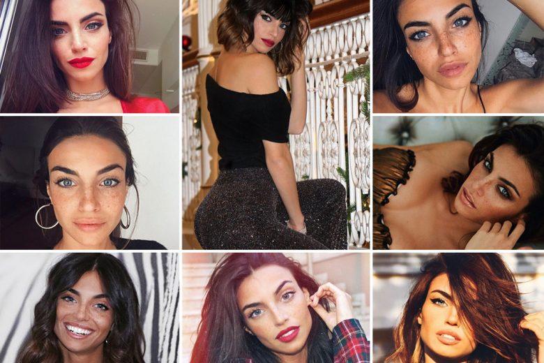 Nicole Mazzocato beauty look: capelli e trucco dell'influencer