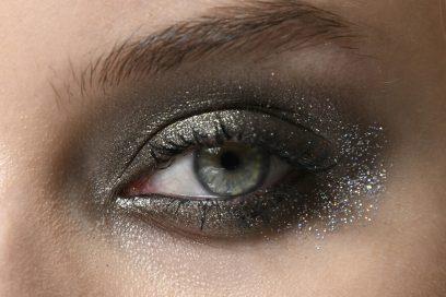 smokey eyes glitterato