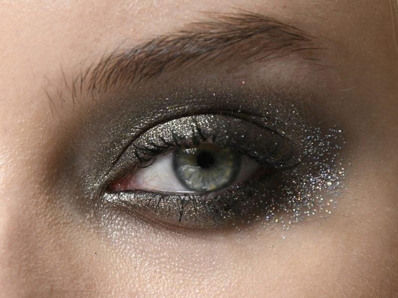 Trucco Capodanno occhi azzurri
