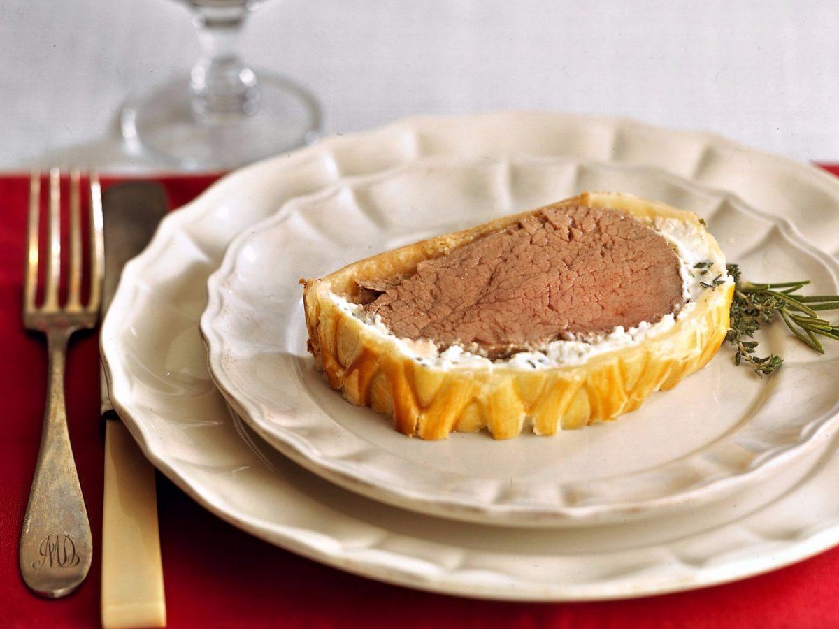 Filetto in crosta di pasta sfoglia