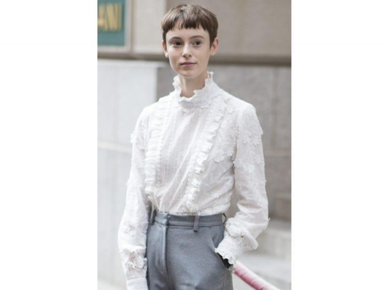 Gisele Fox tagli capelli 2018 acconciature new york