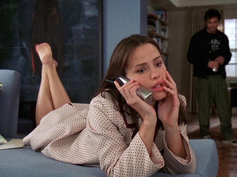 Jennifer Garner accappatoio