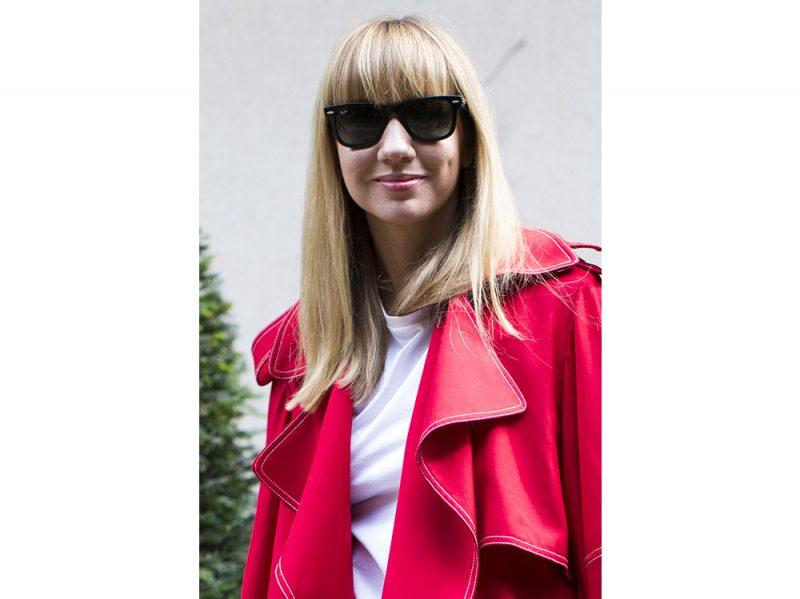 Lisa Aiken tagli capelli parigi acconciature 2018