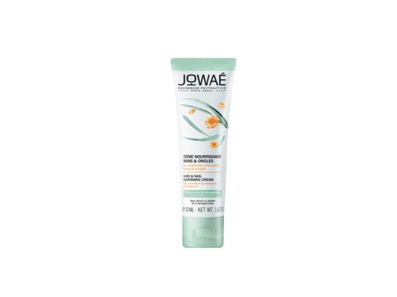 Manicure-curativa-i-prodotti-per-curare-mani-e-unghie-dai-danni-di-freddo-e-stress-JOWAE_Creme_nourrissante_mains_et_ongles_50ml_–_fond_blanc