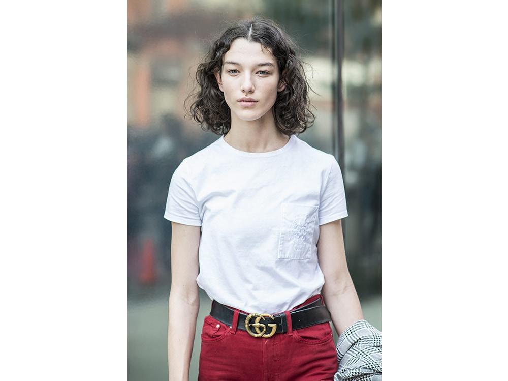 McKenna Hellam tagli capelli 2018 acconciature new york