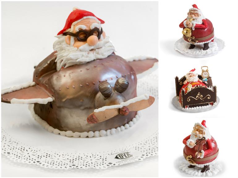 Panettoni_BabboNatale Cova Montenapoleone Milano panettoni piu buoni milano Natale dolci tradizione