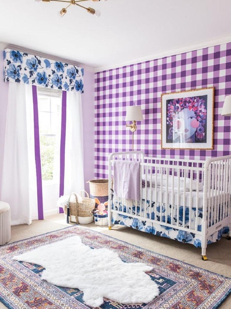 Pantone ultra violet camera dei bambini
