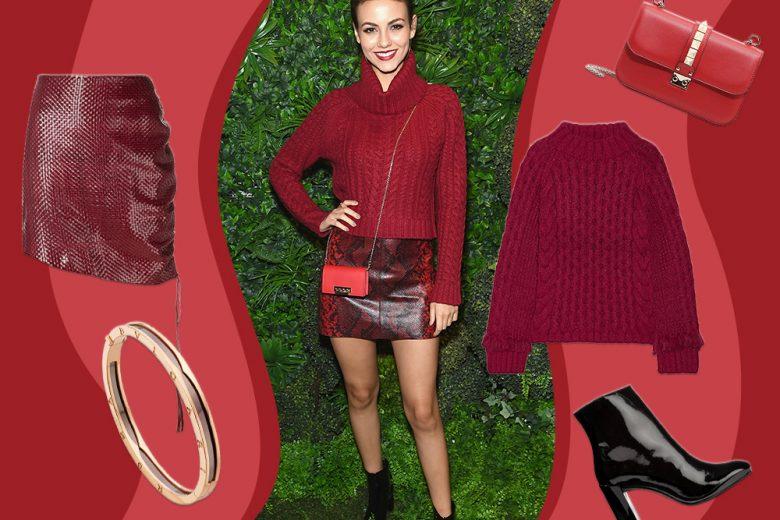 Red on red: il look da copiare di Victoria Justice!