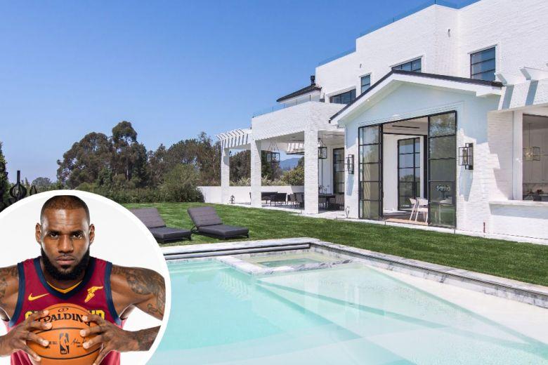 LeBron James compra casa a Los Angeles