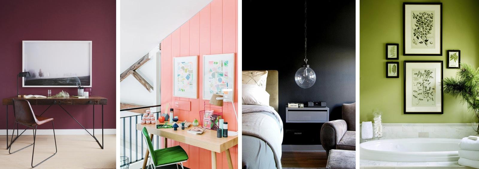 Guida colore 2018 7 colori per dipingere le pareti di casa - Colori delle pareti di casa ...