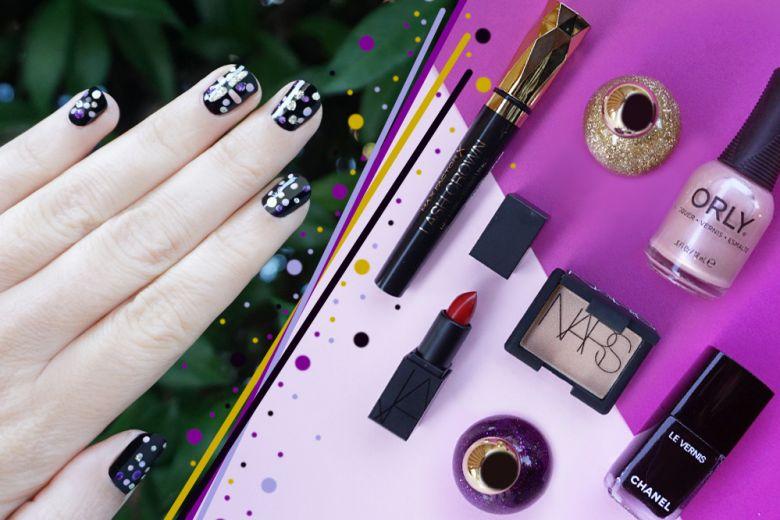 La nail art di Capodanno creata da Non Solo Kawaii
