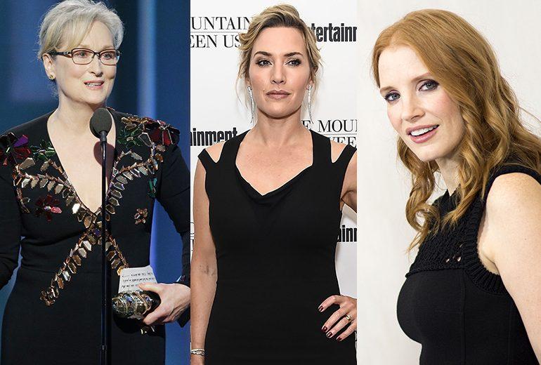 Golden Globe 2018: tutte le attrici sul red carpet in nero contro le molestie