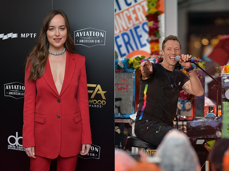 dakota johnson chris martin insieme