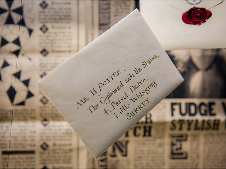 harry potter lettera