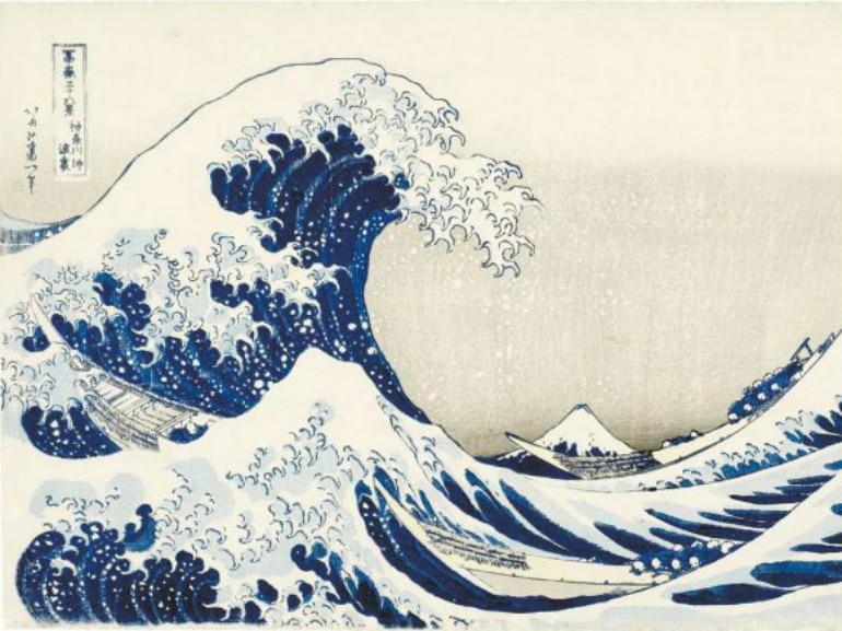 hokusai roma