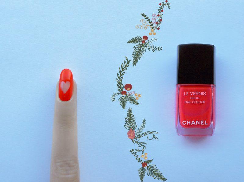 nail-art-natale-accent-nail-step1