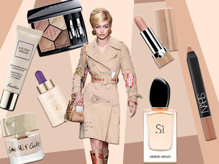 prodotti di bellezza beige collage_mobile