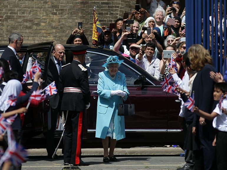 regina elisabetta gente