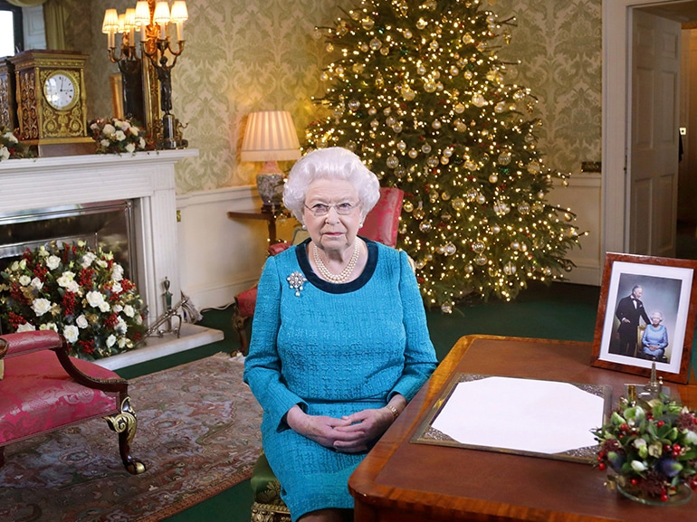 regina elisabetta natale