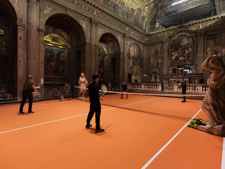 tennis chiesa