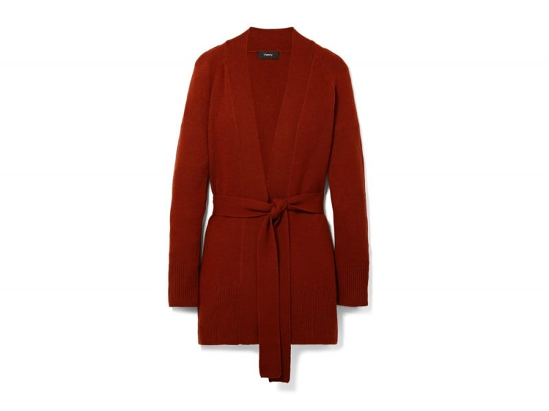 theory-cardigan-rosso