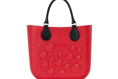 1. O bag mini cuori rossa