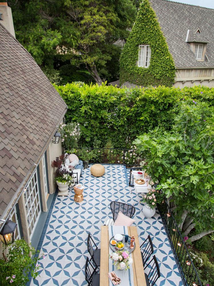 terrazzo cottage inglese