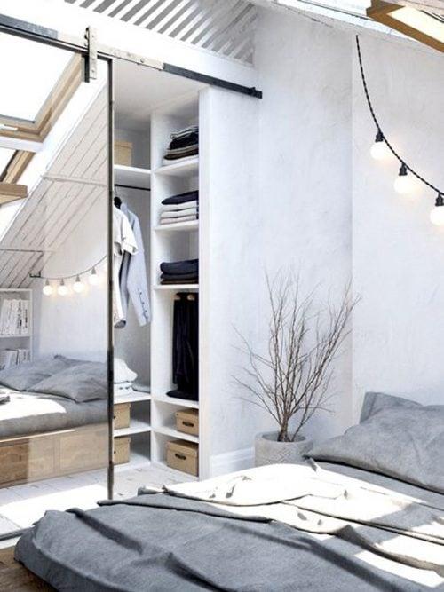 Come ricavare una cabina armadio in camera da letto - Grazia.it