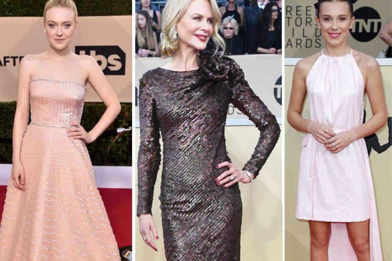 SAG Awards 2018: tutti gli abiti delle star