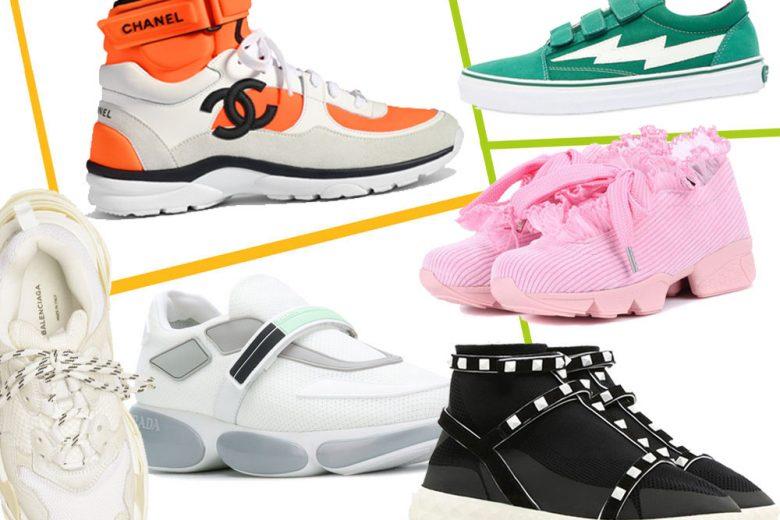 Sneakers: le più belle per la Primavera 2018