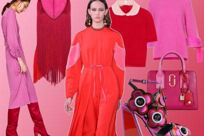 Rosso + Rosa: il binomio perfetto per inaugurare il 2018