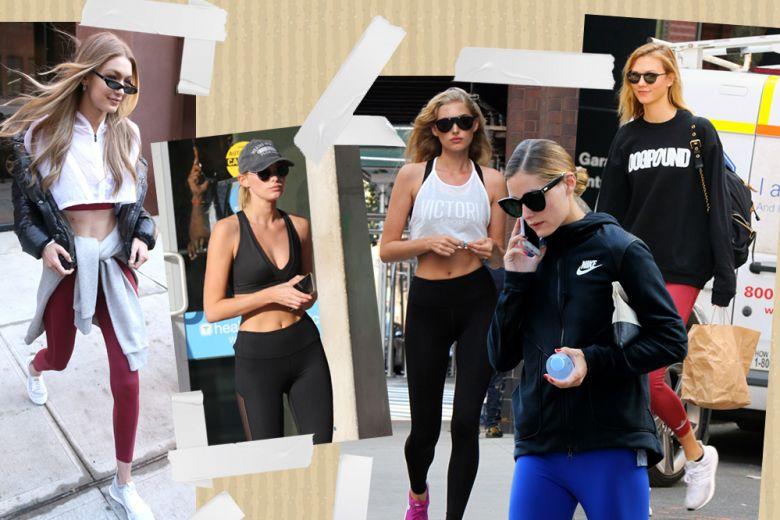 10 gym look delle celeb che vi faranno tornare la voglia di andare in palestra