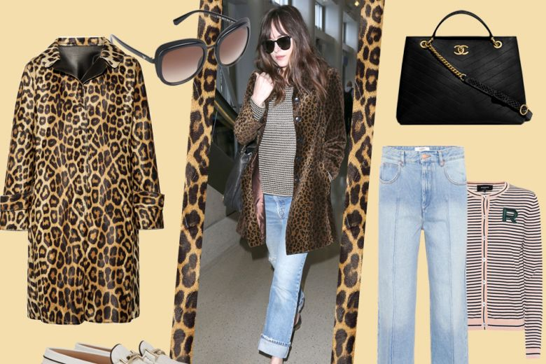 Come abbinare l'animalier? Dakota Johnson docet!