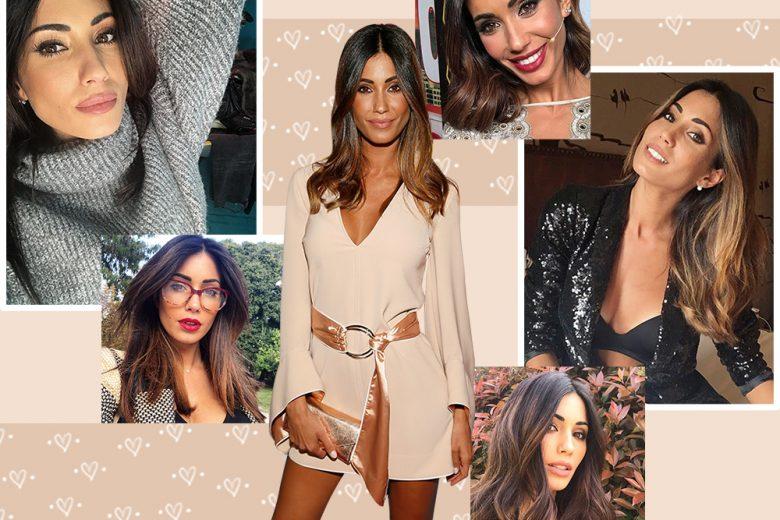 Federica Nargi capelli: gli hair look più belli della star italiana