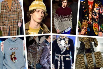Moda Uomo: le tendenze per l'Autunno-Inverno 2018/19