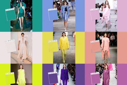 Come abbinare i colori per la Primavera-Estate 2018