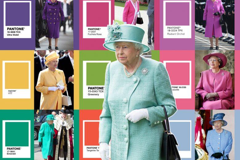 Regina comanda color… Pantone!