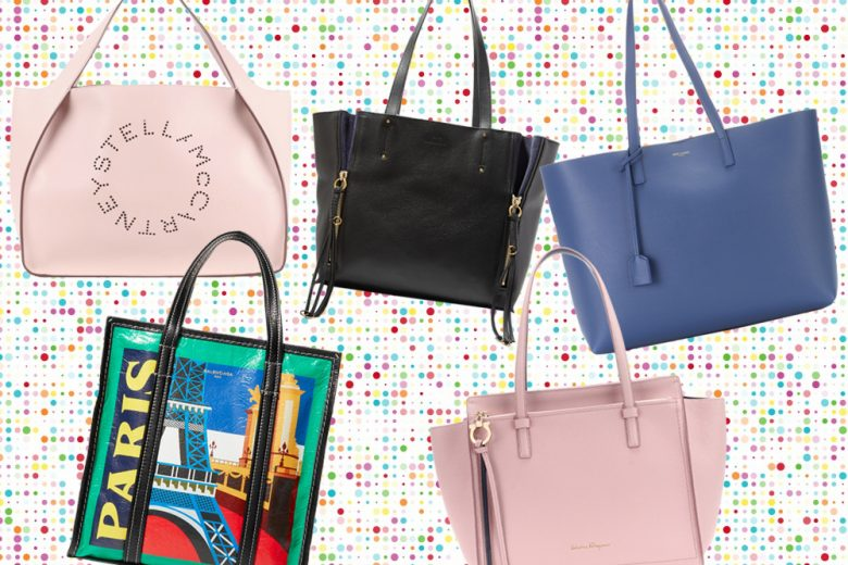 Shopping bag & Co: le borse maxi di tendenza per la Primavera-Estate 2018